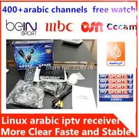 Best iptv arabic quad core,no dishs,over 400 iptv arabic channels free,arabic iptv box  hd tv receiver