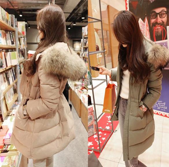 White Winter Coats Women - Tradingbasis