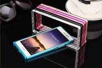 Huawei Ascend P7 Aluminum Metal Frame Bumper Case For Huawei P7 Top-level Ultra-thin Metal Frame