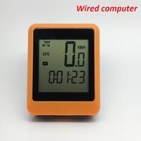 PM-609 2014 Brand New big LCD bicycle computer speedomeer odometer waterproof