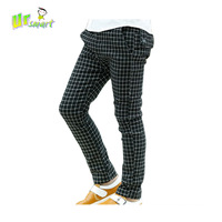 Boys Pants Children Trousers New 2014 Black & White Plaid kids Casual Pants All for children clothing and accessories