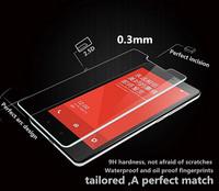 2.5D  genuine Brand  Amazing H Nanometer Anti-Explosion Tempered Glass screen protector for Xiaomi Miui Hongmi Note Redmi Note