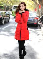 New Autumn And Winter Coat Long Sections Mediumn Thickness Women Jacket Zippers Quarter Coat Female Models