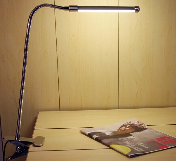 high quality led clip clamp table lamp desk lamp bed. Black Bedroom Furniture Sets. Home Design Ideas