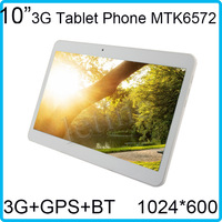 Andriod Tablet Phone GPS WIFI 3G Phone Tablet  pc 10 inch 2*Sim Card Slot 1G 8G WCDMA 2100Mhz  1.2Ghz with Bluetooth Bracelet