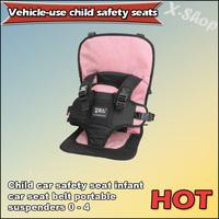 Child car safety seat infant car seat belt portable suspenders 0 - 4