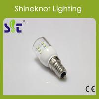 Small Power 0.8w LED Fridge Light T25 E14 65Lm 220-240V Warm White Cold LED Bulb Free Shipping