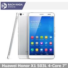 "Huawei Honor X1 4G LTE MediaPad  FDD-LTE WCDMA 503L 501U Quad Core Tablet Phone Call 2GB 16GB LTPS  7"" 1920x1200 Screen GPS(China (Mainland))"