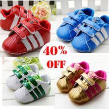 Stock!!!!!! Precio al por mayor!! Envío gratis caliente zapatos de bebé para niño y niña marca niño zapatos de bebé caminantes primero zapatos(China (Mainland))