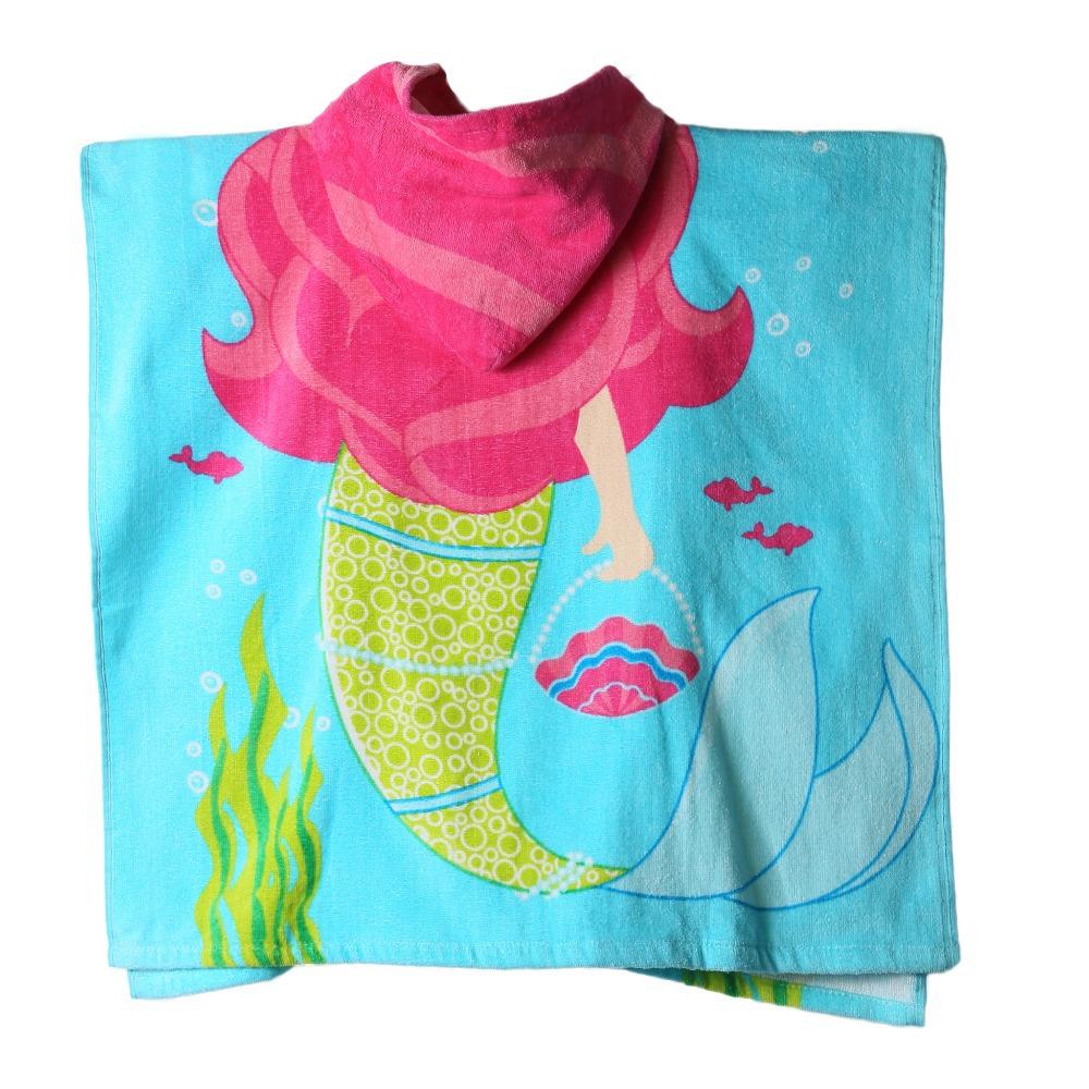 Kids Hooded Beach Towel Children s Hooded Towel