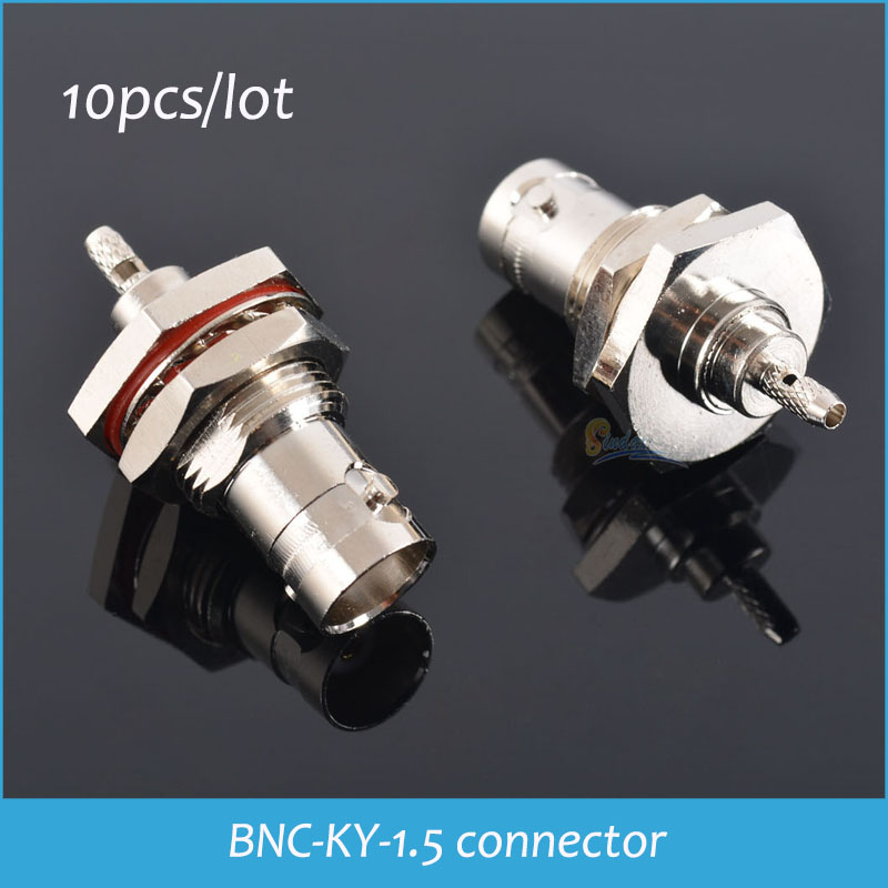 100% Brand New High Quality Video surveillance BNC-KY-1.5 wear board wiring coaxial connectors Drop Shipping(China (Mainland))