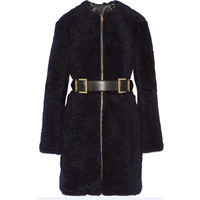 new 2014 winter fur coat women's fashion black thick long slim coat plus size ladies warm jacket overcoat outwear DF14M001