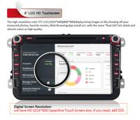 Android 4.4.2 Car Head Unit Stereo GPS Navi  DVR OBD2 for Volkswagen POLO / POLO 2 / GOLF / Transport T5 / Seat Leon / Jetta