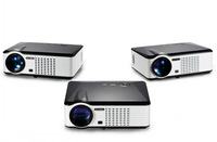 Portable Projector PRS200 from supplier Barcomax use for video,music,and home theater  native 800*480pixels  2500lumens