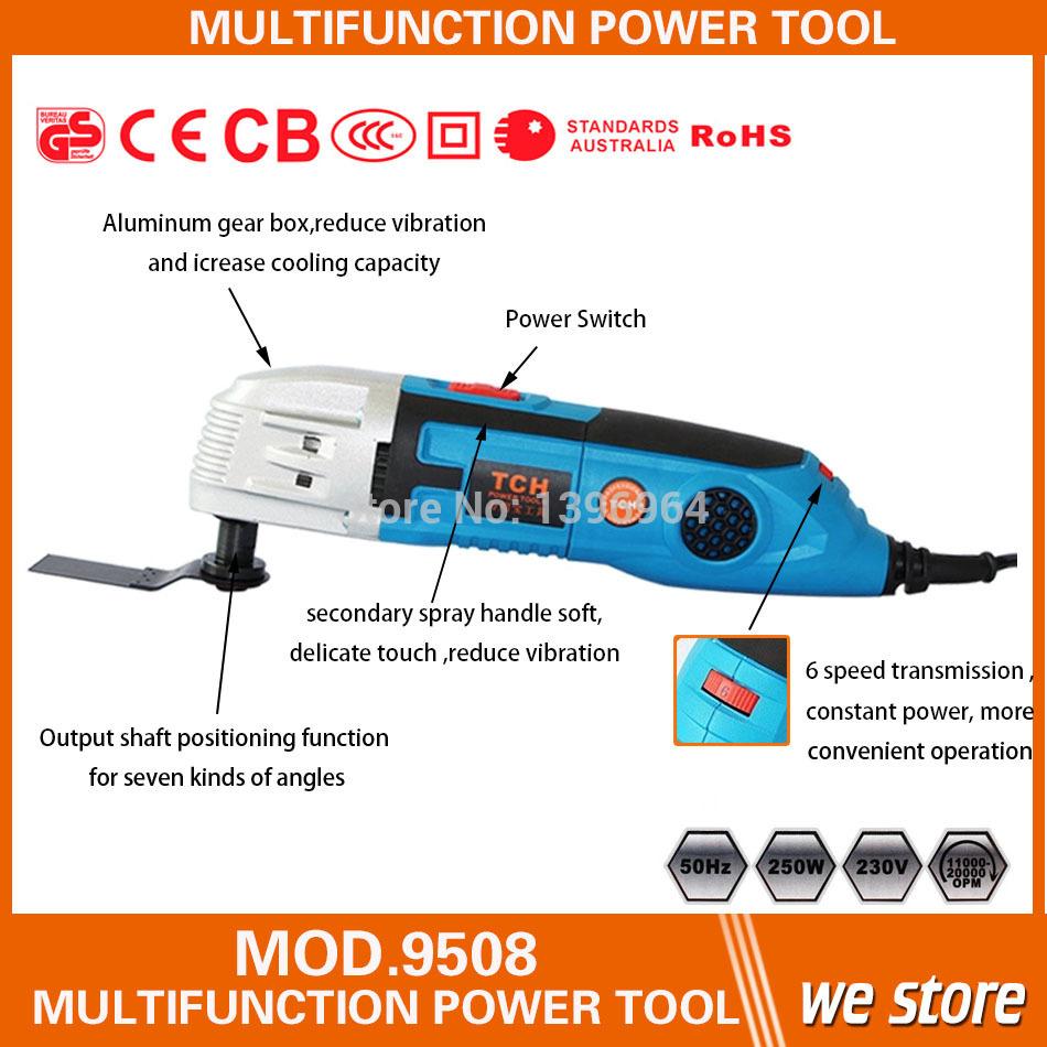 Tch Multifunktions-Gerät, Erneuerer säge multimaster oszillierenden werkzeugen, diy zu Hause, holz/Stein/bis/Ziegel/Metall arbeitsinstrument
