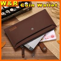 2014 New men's brand wallet fashion long man wallet coin purses