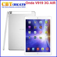Onda V919 3G Air Dual Boot Tablet PC 9.7inch 2GB/64GB Intel Z3736F Quad Core 3G Phone Call Free Switch Windows8.1 & Android4.4