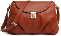 2014 Casual Handbags Women Genuine Leather Shoulder Bag Ladies Fashion Purses Hobos 7 Colors Bags Free Shipping A1405