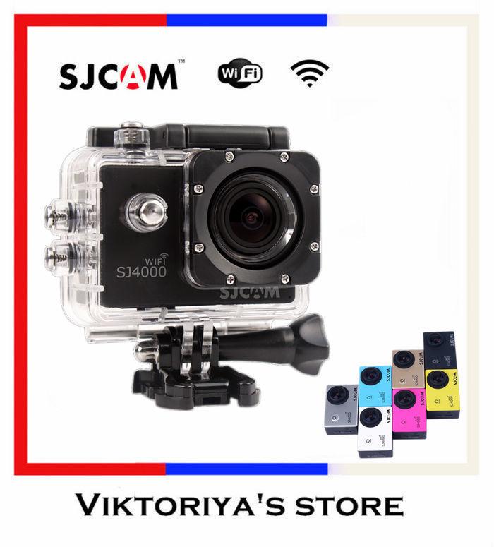 Original SJCAM SJ4000 Wifi Action Camera GoPro Hero 3 Style 1080P H.264 4X Digital Zoom Extreme Camera(China (Mainland))