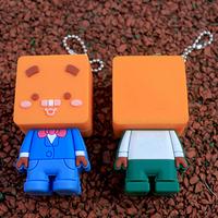 Christmas gift 64gb pen drive usb 2.0 dolls usb flash drive 64GB 32gb 16gb 8gb three-dimensional cartoon pendrive 512gb