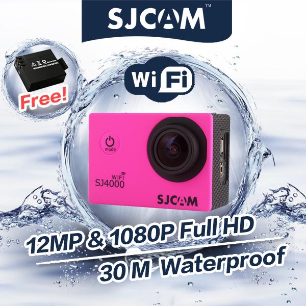 Original GoPro Hero3 Style SJCAM SJ4000 1080P Full HD WiFi Version Extreme Sport DV Action Camera 30M Waterproof Helmet Camera(China (Mainland))