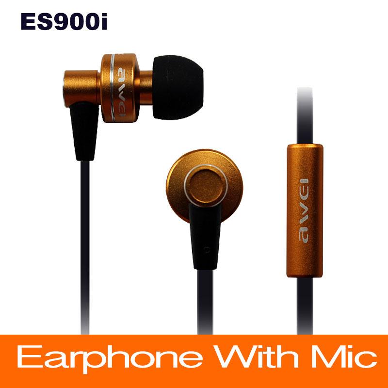 все цены на Наушники для мобильных телефонов Micphone Awei ES900i IPhone/Samsung/MP3 ES-900i онлайн