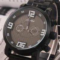 GAGA! New Design Formal SINOBI Branded Watches,Men full steel watch Quartz Analog waterproof  Wristwatches