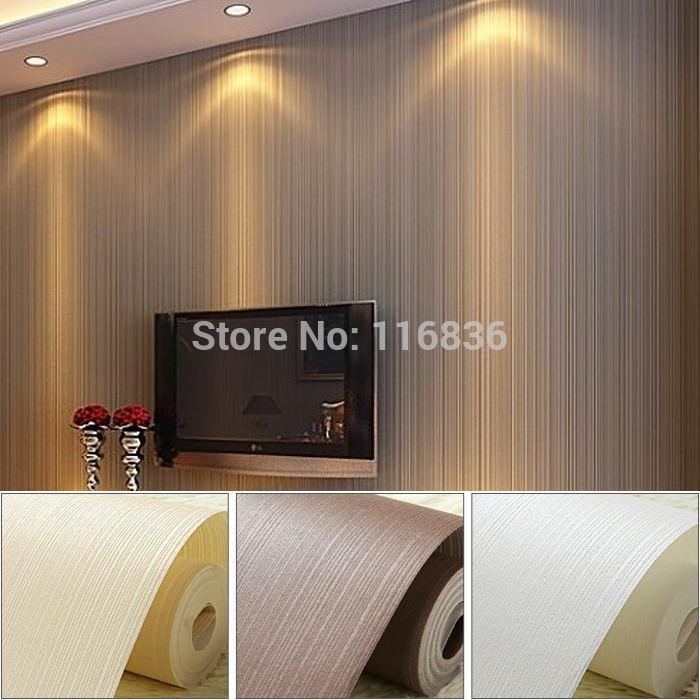 Slaapkamer Wit Beige : Fabric Wall Paper