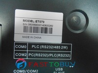 """7"""" HMI Eview ET070 800*480 with Free Programming Cable&Software New Wholesale"""