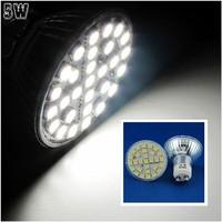 10 Pcs/lot Free Shipping GU10 LED 5W Pure White 29pcs 5050 SMD LED Spot Light Lamp Bulb AC220V LED0250