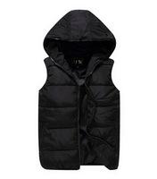 Man Winter Waistcoat 2014 New Design Fashion Men's Casual Sleeveless Jacket Men Outdoors Sport Coat Cotton-padded Outwear Z1137