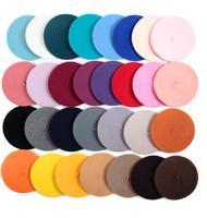 Wholesale 10pcs High Quality Women Wool Berets Caps Ladies Winter Felt Beret Hats 2015 Womens Winter Wool Cap Lady Trilby Hat