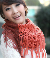 magic scarves for women, multiple usages winter warm scarf,knitted scarf