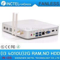 Mini Computer ITX HTPC i3 Mini PC Intel 4010u Core HD4400 Graphics Haswell Design Fanless