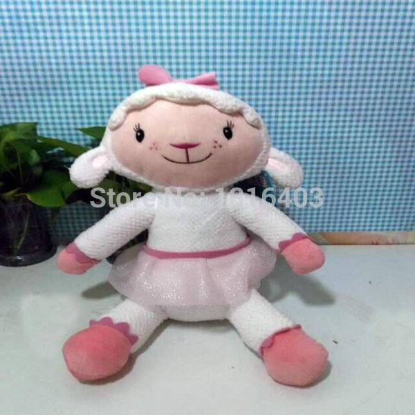 2015 Juguetes Doc Mcstuffincs Plush Toy  30cm Bonecos Doc Mcstuffincs Lambie Toys Stuffed Animals Sheep Doll Christmas Gift(China (Mainland))