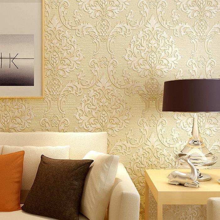 Retro behangpapier slaapkamer : europese slaapkamer behangpapier ...
