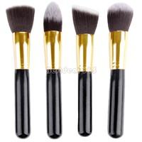 4pcs Eye Brushes Eyeshadow Blending Pencil Cosmetic Brushes Makeup Brush Set Tools B27 SV000965