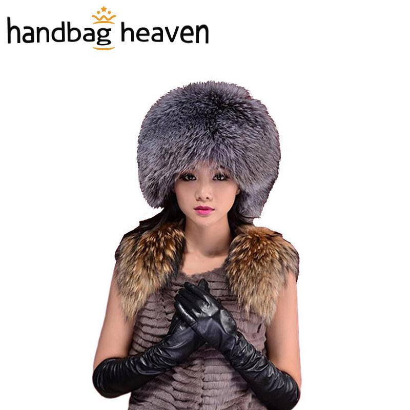Winter Hats For Women Faux Mink Fur Woman Beanies Fashion Warmer Fox Ear Protect(China (Mainland))