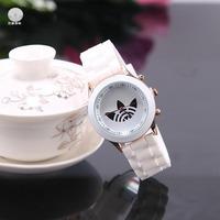 Супер дизайн мороженое конфеты свежий цвет женщин часы Мужские спортивные часы будильник досуг лучший подарок новый летний прибыл часы