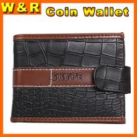 2014 top sale wallet  crocodile grain's wallet  factory outlet men wallets