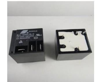 25PCS SLC-12VDC-SL-C SLC-12VDC-SL-A T91 12V 5pin Black Electrical PCB Power Relay 30A 250VAC(China (Mainland))