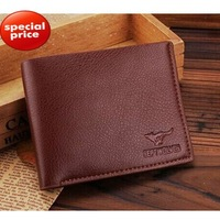 TOP Quality! New Arrival Purse Genuine Leather Men's Wallet Clutch Free Shipping AF1