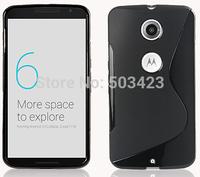 New S Line Soft TPU Gel Skin Cover Case For Motorola Moto Nexus 6