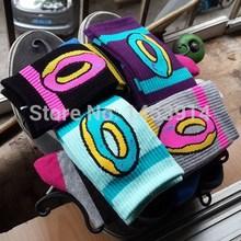 Men Women brand odd future donuts wool cotton Long Socks fashion Hiphop Cotton Skateboard fixed gear stockings Sport meias Socks(China (Mainland))