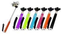 wholesale  Extendable Self Portrait Selfie Handheld Stick Monopod Tripod With Adjustable Clip Holder for Phone Camera