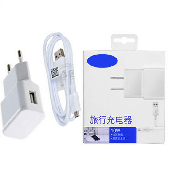 2A EU Adapter & Charging USB Data cable For samsung s1 s2 s3 s4 note 2 ALL micro USB Perfect compatible mobile phone chargers(China (Mainland))
