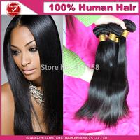 Brazilian straight hair 3pcs lot unprocessed virgin brazilian hair 100 human hair extension virgin brazilian hair