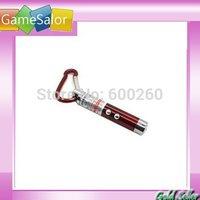 free shipping Laser pointer LED Flashlight Light Torch Keychain  #9856