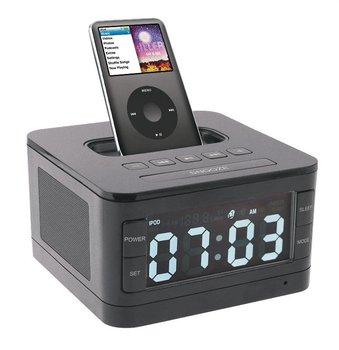 B7 Premium Portable Loudspeaker Mini Speakers Alarm Speaker for Apple Ipod/touch/iPhone 3gs/4/4s FM+charging Dock Free shipping