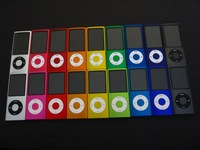 Brand New 8GB MP3/MP4 player with 5 generation MP3/MP4 Player FM Radio Camera wheel scroll Button 10pcs/Lot
